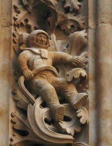 Astronauta @ Catedral de San Jerónimo