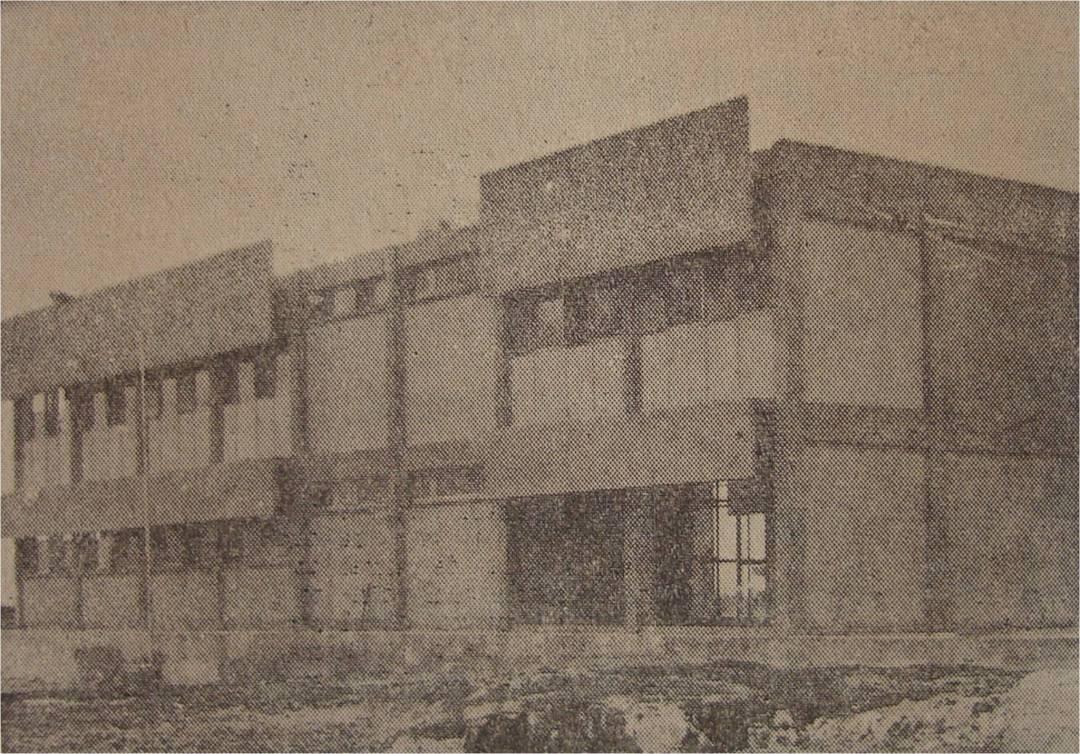 El edificio de la Comandancia, único de dos pisos (Fotos Avila)