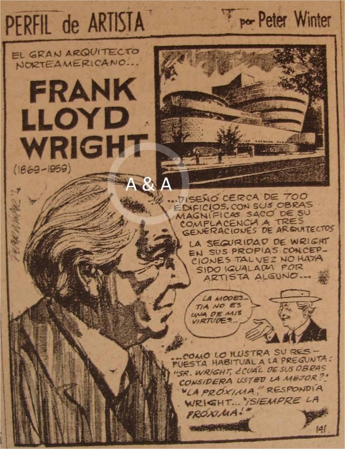 Frank Lloyd Wright :: 03 marzo 1950