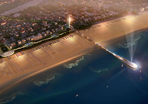 Puerto para Rimini, Italia por Foster + Partners