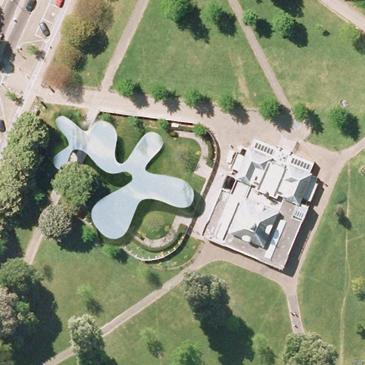 Fotografía aérea cortesía de Terraserver