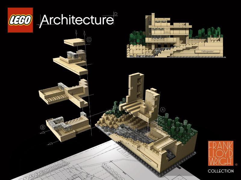 Casa de la Cascada por Frank Lloyd Wright
