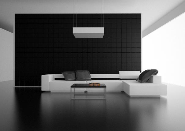 Muro alania arquitectura - Best interior paint colors for small spaces minimalist ...