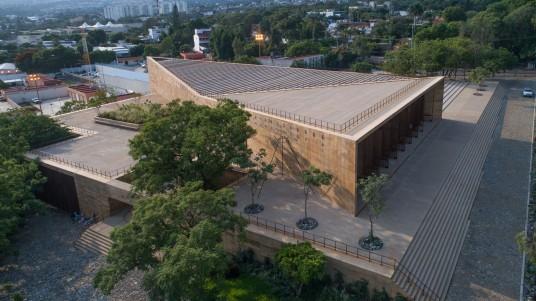 Centro Cultural Teopanzolco. Fotografía: Jaime Navarro y Rory Gardiner