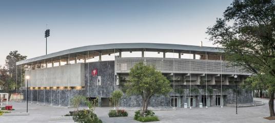 Estadio Fray Nano. Fotografía: Camila Cossio.