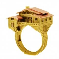 MEDIUM CHALET ARCHITECTURE RING